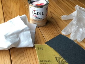 塗装グッズ 塗装用品 塗料(U-OIL) ウエス 使い捨て手袋